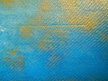 Background with golden and blue textures stock photo