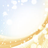 Background with golden colors Royalty Free Stock Image