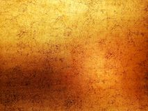 Background golden and copper color, curve and circle pattern abstract artistic design.  royalty free stock image