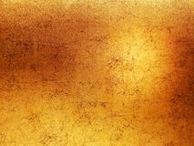 Background golden and copper color, curve and circle pattern abstract artistic design.  royalty free stock photography