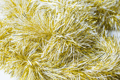 Background with golden garland Royalty Free Stock Photos