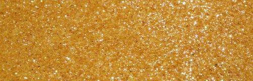 Background golden glitter Stock Photography