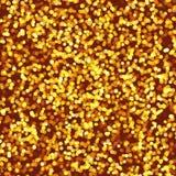 Background of golden lights. Sparks. The festive mood vector illustration