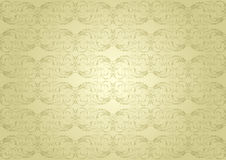 Background golden pattern Stock Photography