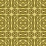 background golden retro seamless texture tilable Στοκ εικόνα με δικαίωμα ελεύθερης χρήσης