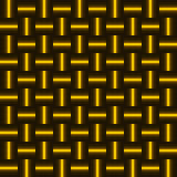 Background of golden squares. Royalty Free Stock Image