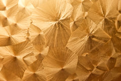Background of golden texutre Royalty Free Stock Photos
