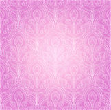 Background in the Gothic style. Continuous pink background with ornament in the Gothic style royalty free illustration