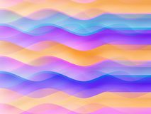 Background gradient waves Stock Photos
