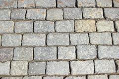 Background of the granite paving Stock Photography