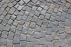 Background of the granite paving Royalty Free Stock Photos