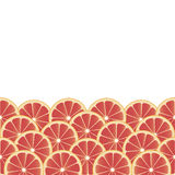 Background with grapefruit. Royalty Free Stock Photo
