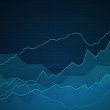 Background with Graphs Royalty Free Stock Photos