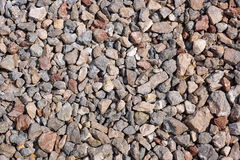 Background of gravel. Natural background from gravel. Stone texture Stock Photos