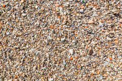 Background from gravel Royalty Free Stock Photos