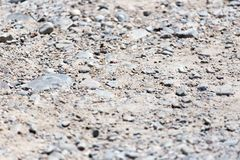 Background of gravel and sand . Stock Photography