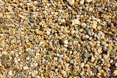 Background from gravel stones Royalty Free Stock Images