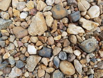 Background of gravels. & stones, gravels & stones texture Royalty Free Stock Images