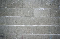 Background of gray brick in frost. The background from light grey bricks in the frost Royalty Free Stock Images