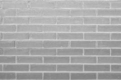 Background of gray brick wall Royalty Free Stock Photography