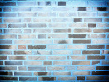 Background of gray brick wall texture Stock Photos