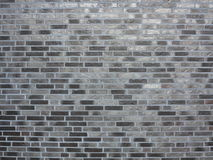 Background of gray brick wall texture Royalty Free Stock Photos