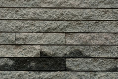 Background of gray brick wall texture Stock Image