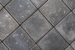 Background of gray ceramic tiles Royalty Free Stock Photography