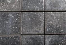 Background of gray ceramic tiles Stock Photos