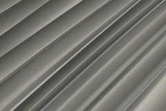 Background of gray 3d abstract waves. Render Royalty Free Stock Photos