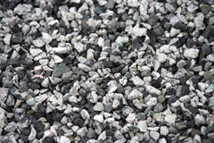 Background of gray granite gravel Royalty Free Stock Photography