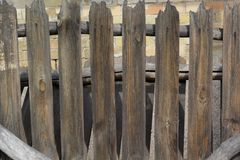 Background of gray wood planks Stock Photography