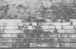 gray stairway with the large steps towards the infinite Royalty Free Stock Photo