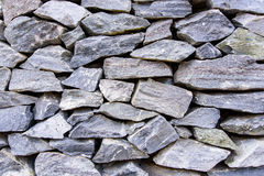 Background of gray stone wall. Background of gray stone wall texture Stock Photography