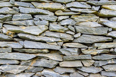 Background of gray stone wall texture. Background of gray stone brick wall texture Stock Image