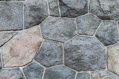 Background of gray stones geometric shapes with gray lines Stock Photos