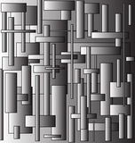 Background in gray ton. Abstract background of gray rectangles with a gradient for various necessities Royalty Free Stock Images