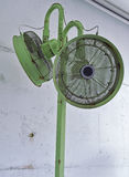 Background of Green Air Fans Royalty Free Stock Photography