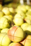 Background of green apples Royalty Free Stock Photography
