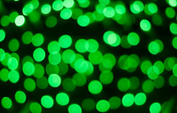 Background with green bokeh Royalty Free Stock Photography