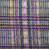 Background from green, brown, violet woolen fabric Stock Photos