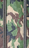 Background of green camo Stock Photo