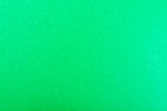Background of green cardboard sheet Stock Photography