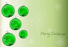 Background green Christmas Royalty Free Stock Photography