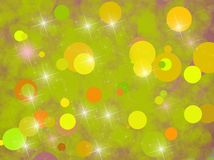 Background with green circles Royalty Free Stock Photos