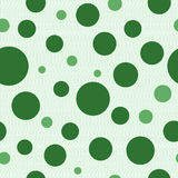 Background of green circles. Backgrounds of seamless pattern with green circles Stock Illustration