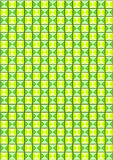 Background of green colored triangles Stock Image