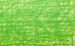 Background green crayon drawing Royalty Free Stock Photo