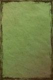 Background green crushed paper Royalty Free Stock Photo