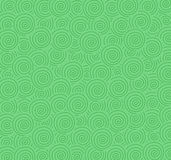 Background from green curls Stock Photo